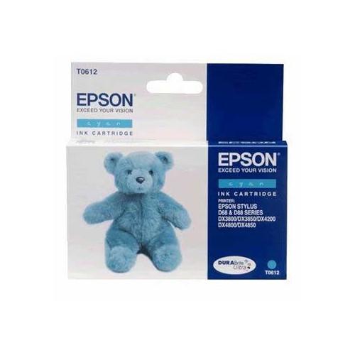 CARTOUCHE JET ENCRE EPSON T0612 CYAN