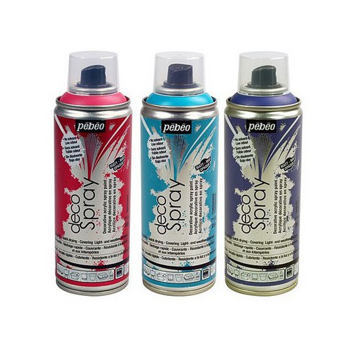 AEROSOL 200ML DECOSPRAY CHROME OR