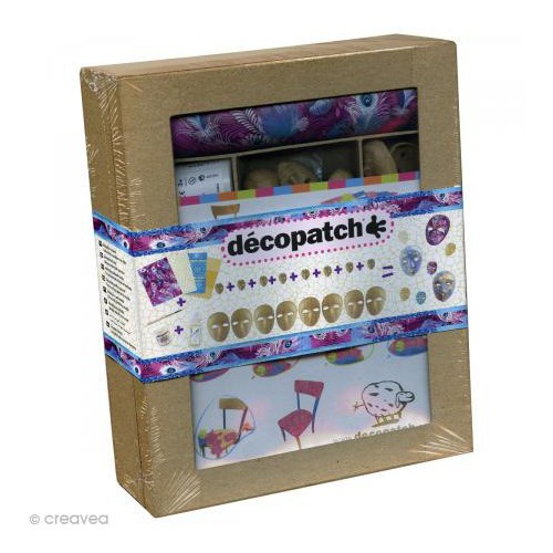 KIT DECOPATCH MINI MASQUES