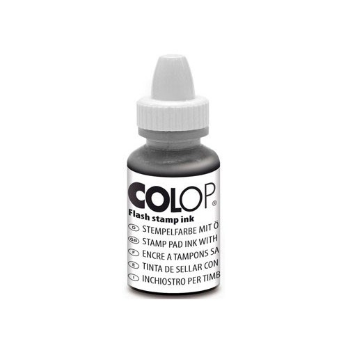 FLACON 10ML ENCRE FLASH NOIR