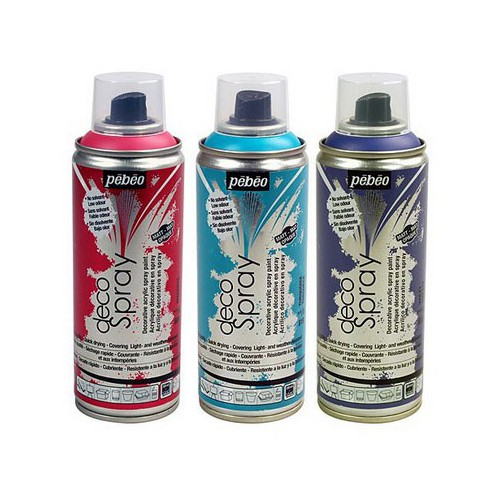AEROSOL 200ML DECOSPRAY CHROME ARGENT