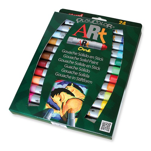 BLIS 24 STICKS GOUACHE PLAYCOLOR ART ONE