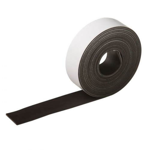 FIXATION ADHESIVE MAGNETIQUE 25MMX99CM