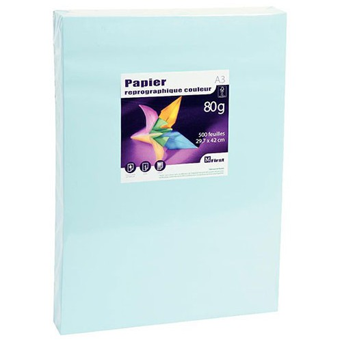 RAME 500F A3 PAPIER REPRO MFIRST 80G