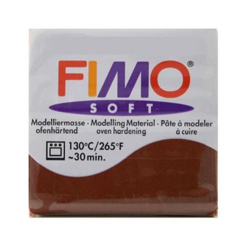 PATE FIMO SOFT 57G CHOCOLAT