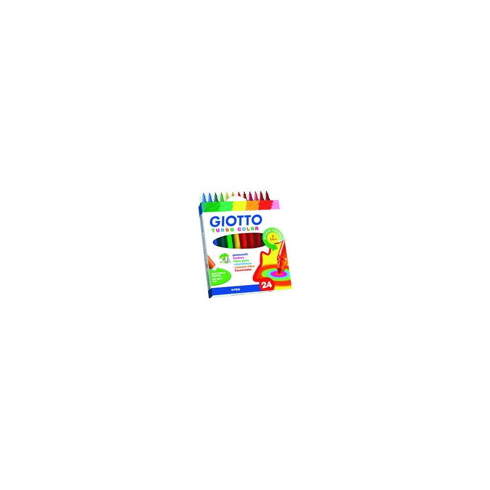 Etui 24 Feutres Coloriage Turbo Color M Magasin Papeterie Noumea
