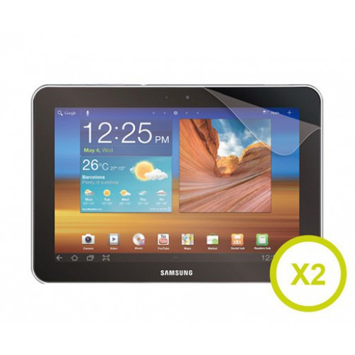 SET 2 FILMS PROTECT ECRAN GALAXY TAB 8""