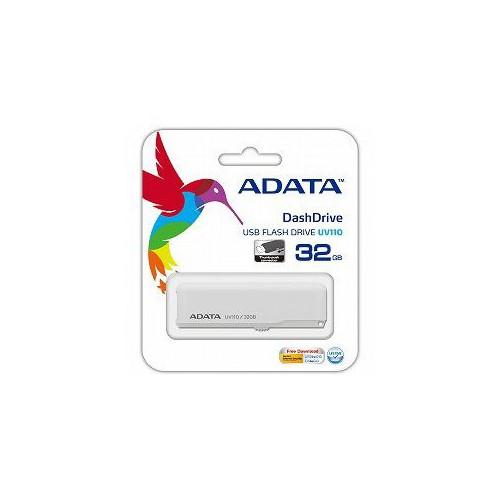 CLE USB 32GO ADATA UV110 BLANC
