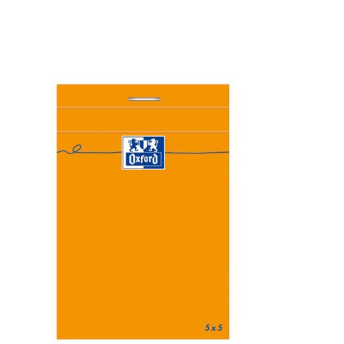 BLOC NOTES 11X17 160P ORANGE Q5X5 80G