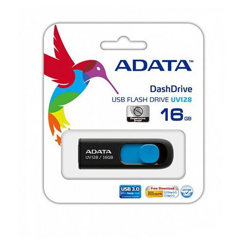 CLE USB 16GO ADATA CLASSIC UV128 NOIR BL