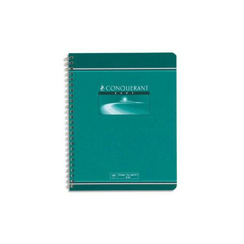 CAHIER SPIRALE A4 180P SEYES 70G