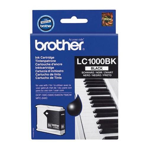 CARTOUCHE JET ENCRE BROTHER LC1000 NOIR