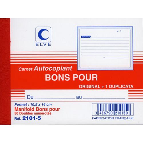 MANIFOLD BON POUR 10X14 DUPLI NCR
