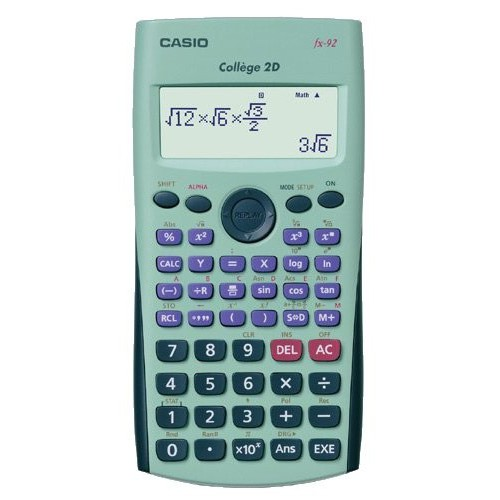 CALCULATRICE SCIENTIFIQUE COLLEGE 2D+