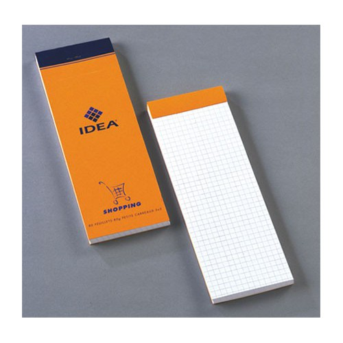 BLOC NOTES 7X21 160P ORANGE Q5X5 80G