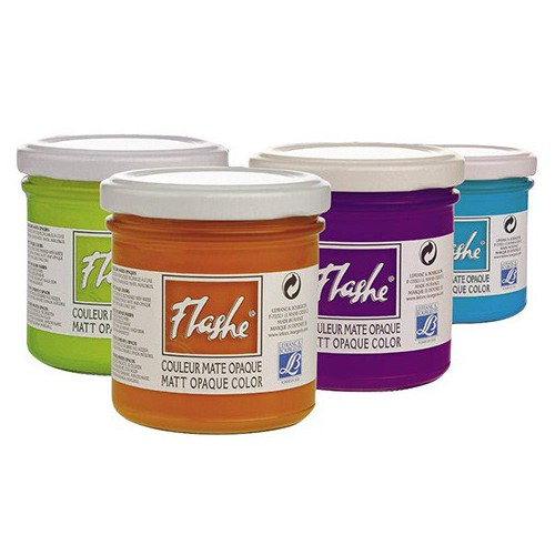 POT 125ML ACRYLIQUE FLASHE FLUO BLEU CLA