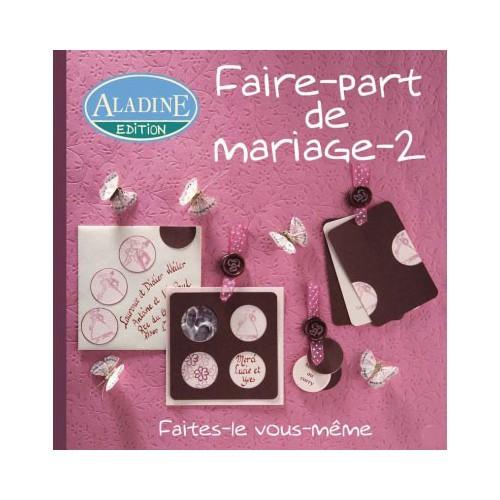LIVRE FAIRE PART DE MARIAGE 2