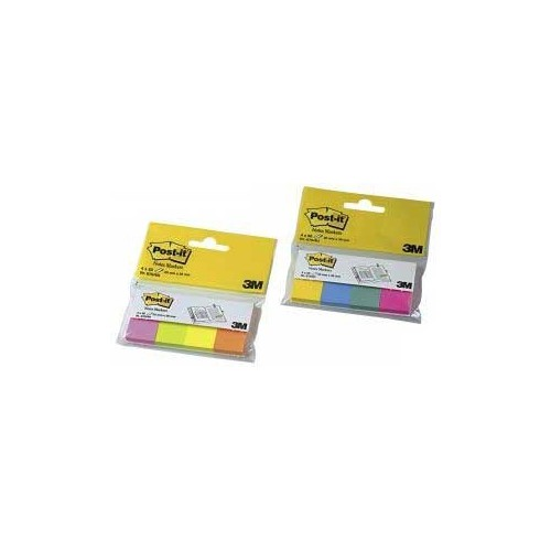 LOT 4 BLOCS MARQUE PAGE POST IT 20X38MM