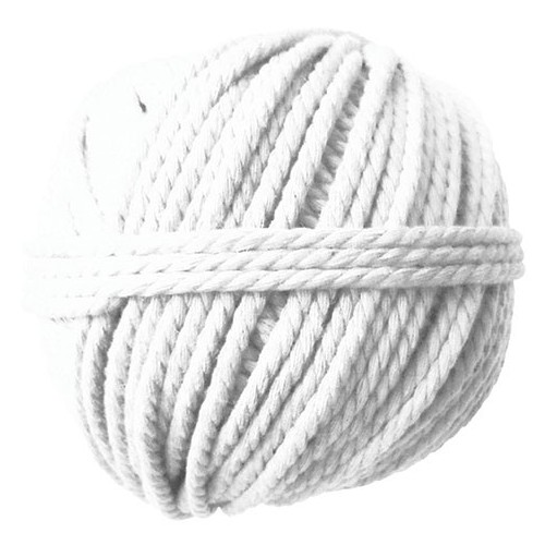 PELOTE 165G COTON CABLE D2.5MM 50M ECRU