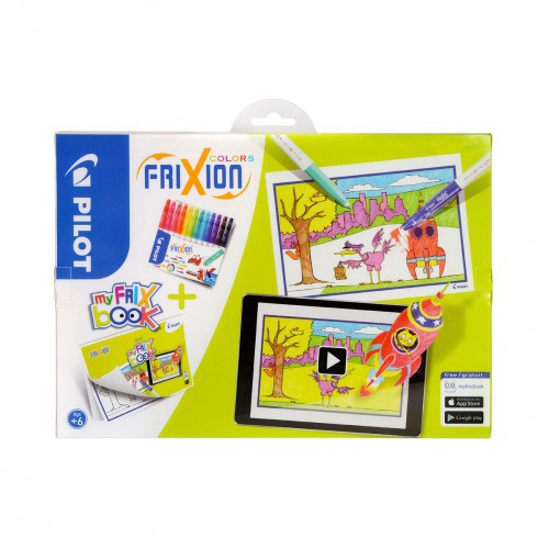 SET COLORIAGE MY FRIX BOOK + 12 FEUTRES
