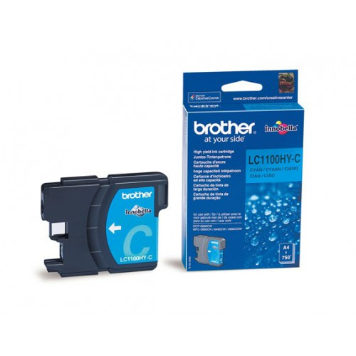 CARTOUCHE JET ENCRE BROTHER LC1100HY CYA