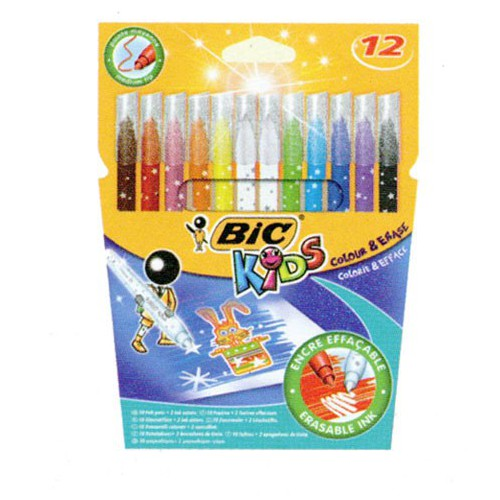 ETUI 12 FEUTRES COLORIAGE KIDS COLOUR