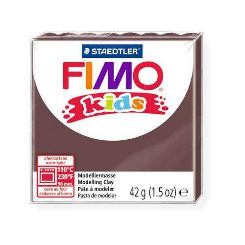 PATE FIMO KIDS 42G MARRON