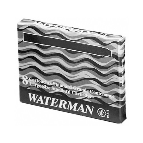ETUI 8 CARTOUCHES STYLO PLUME WATERMAN
