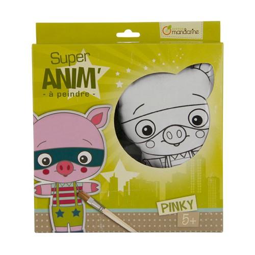 SUPER ANIM'A PEINDRE PINKY