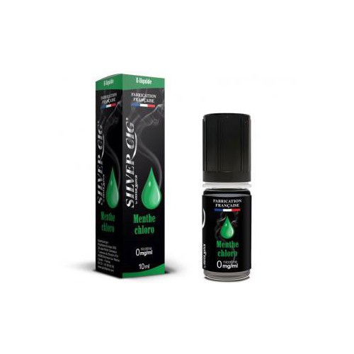E-LIQUID 10ML MENTHE CHLORO 0MG/ML