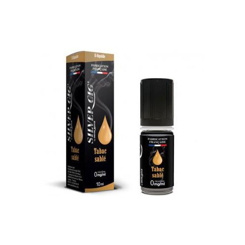 E-LIQUID 10ML TABAC SABLE 0MG/ML