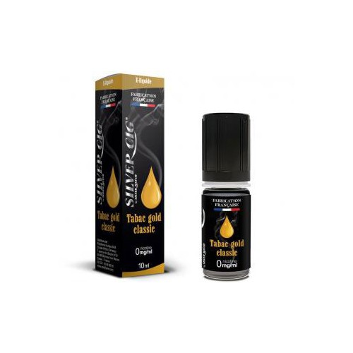 E-LIQUID 10ML TABAC GOLD CLASSIC 0MG/ML