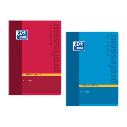 CAHIER PROFESSEUR A4 44P NOTES