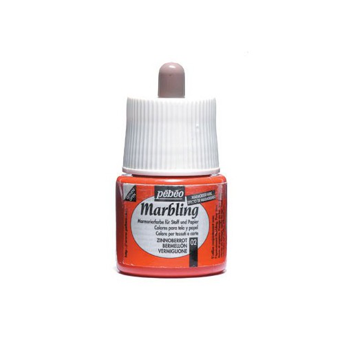 MARBLING A PIPETTE 45ML VERMILLON