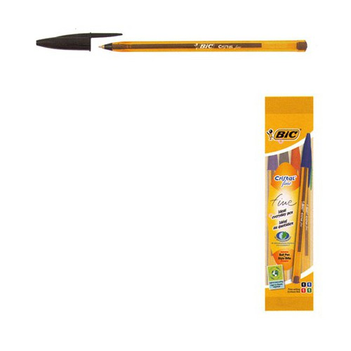 STYLO BILLE CRISTAL ORANGE F
