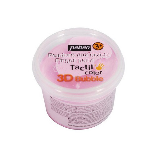 TACTILCOLOR 3D BUBBLE 100ML ROSE NACRE