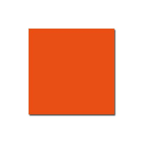 PAQUET 25 CARTES 135X135MM 210G ROUGE
