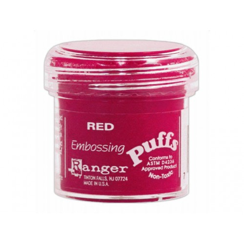 POUDRE A EMBOSSER PUFFS ROUGE
