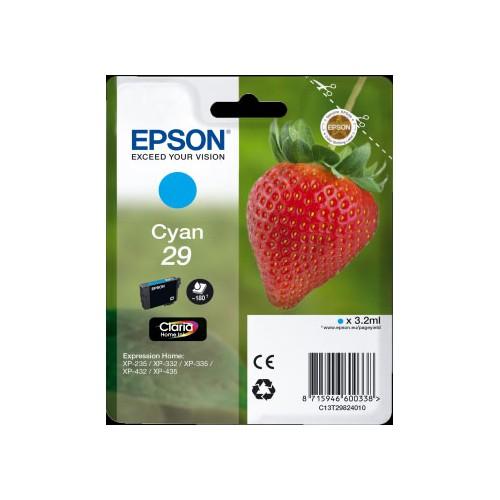 CARTOUCHE JET ENCRE EPSON T2982 CYAN