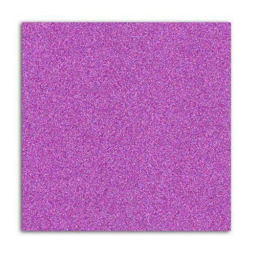 PAPIER ADHES 30X30 GLITTER VIOLET FLUO