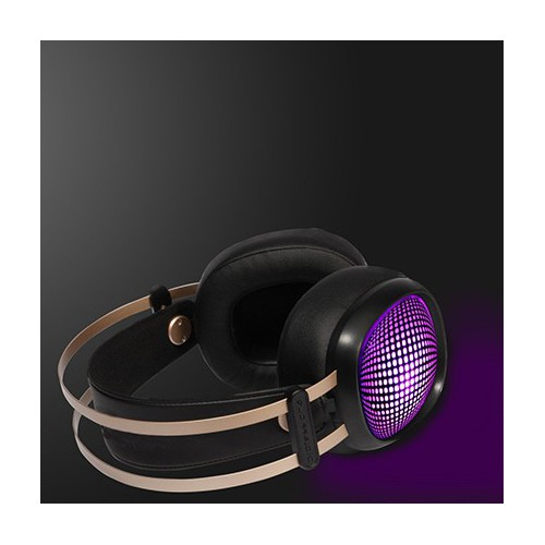 CASQUE GAMING STEREO VALIANT NOIR