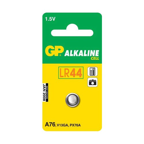 PILE BOUTON ALCALINE X 1 LR44 V13GA GPA