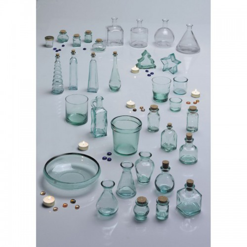 VERRE A DECORER VASE CONIQUE