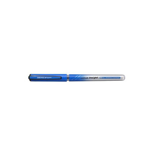STYLO ROLLER UB INSIGHT 0.7MM BLEU