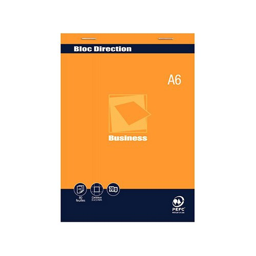 BLOC NOTES A6 80P MBUSINESS DIRECTION