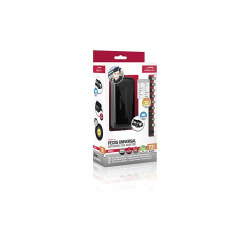 CHARGEUR UNIVERSEL VOITURE 72W NOTEBOOK