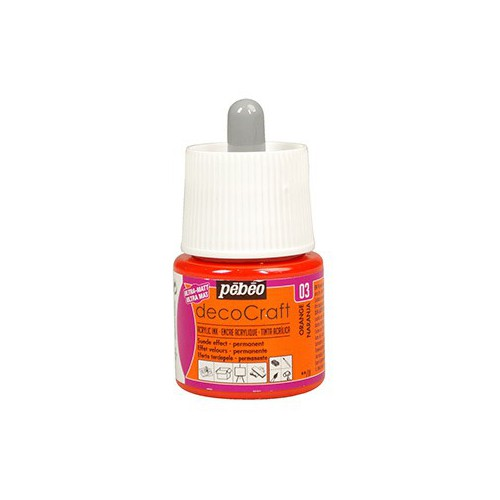 ENCRE ACRYLIQUE 45ML DECOCRAFT ORANGE