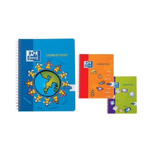 CAHIER TEXTES SPIRALE 17X22 148P SEYES