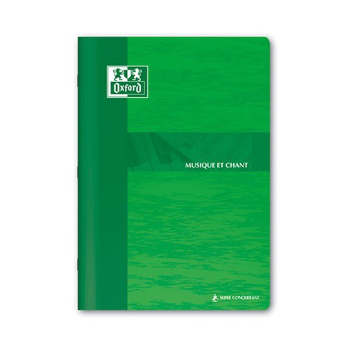CAHIER MUSIQUE CHANT A4 48P SEYES 90G