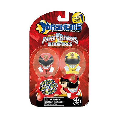 BLIS 2 FIGURINES SOUPLES POWER RANGERS